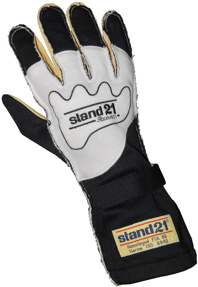 Stock black Carrera - Outside Seams gloves